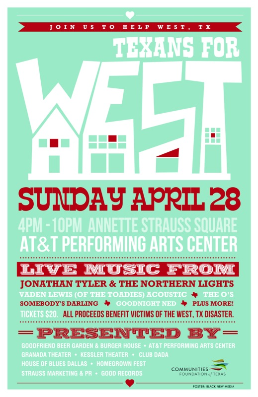 Texans for West Concert
